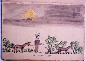 Visione a Macchia Peschi, 25 Aprile 1848