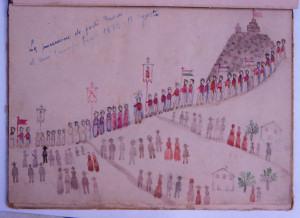 Discesa dal Monte Labbro, 18 Agosto 1878