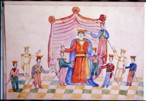 Immagine allegorica di «Roma spogliata» dai Principi delle Nazioni
