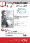 presentazione libro tommencioni agosto 2018