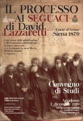 il processo ai seguaci di david lazzaretti - manifesto